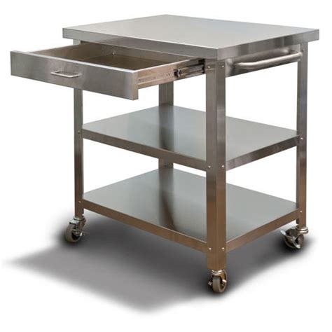 stainless steel kitchen island cart winda 7 furniture