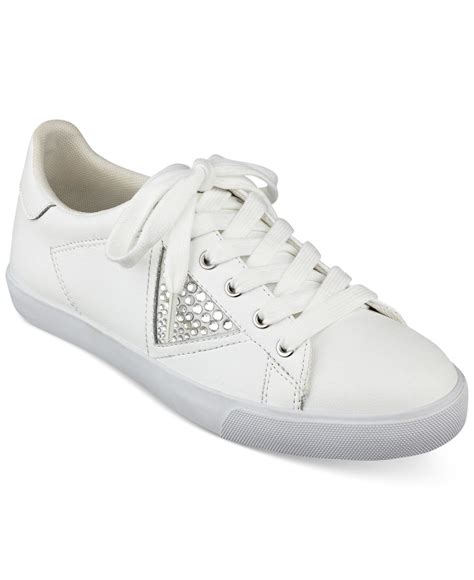 womens guess sneakers guess s marline sneakers in white lyst