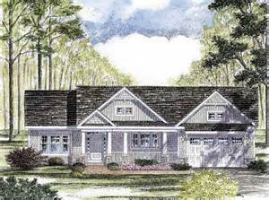 Craftsman Ranch House Plans by Cottage Craftsman Ranch House Plan 94182