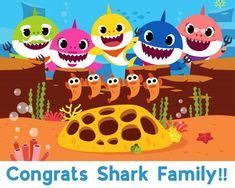 baby shark family personalized baby shark printable party backdrop pinkfong