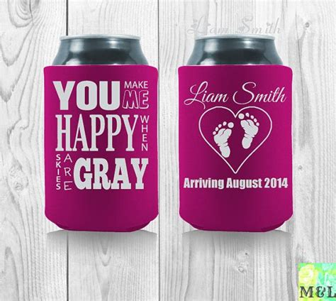 66 best images about baby shower koozies on