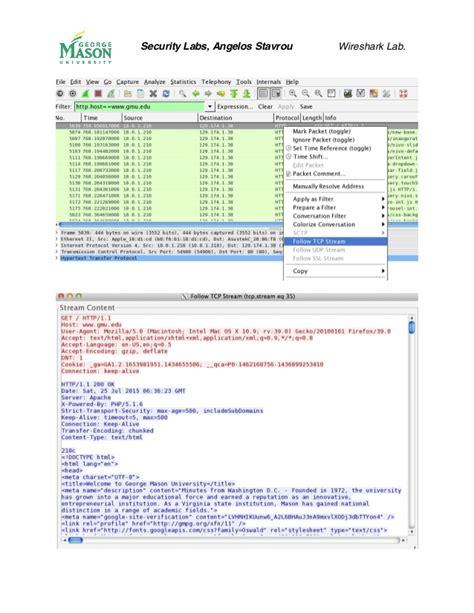 wireshark tutorial stream wireshark tutorial
