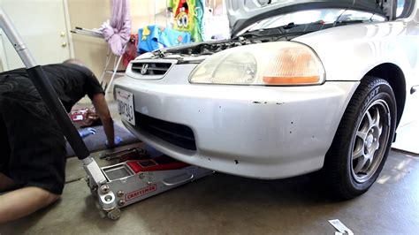 1996 honda civic hx 1996 2000 honda civic hx manual transmission drain and