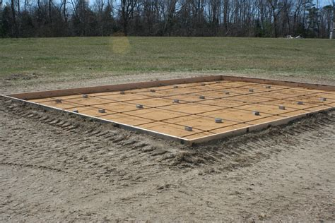 how to build shed concrete slab how to make a garbage shed