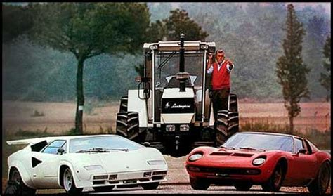 Lamborghini Story Ferrucio Lamborghini The Story Of How A Tractor Maker
