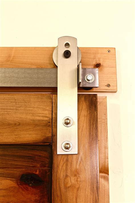 Barn Door Hinge Hardware Configure