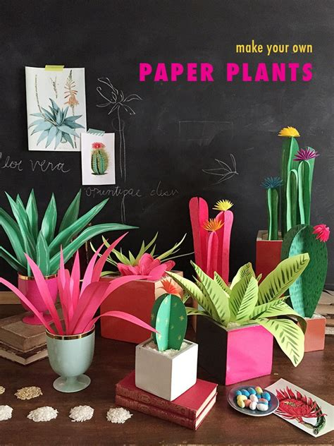 Paper From Plants - diy paper plants