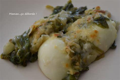 salade verte cuite recette cuisine gratin de salade cuite et oeufs durs blogs de cuisine