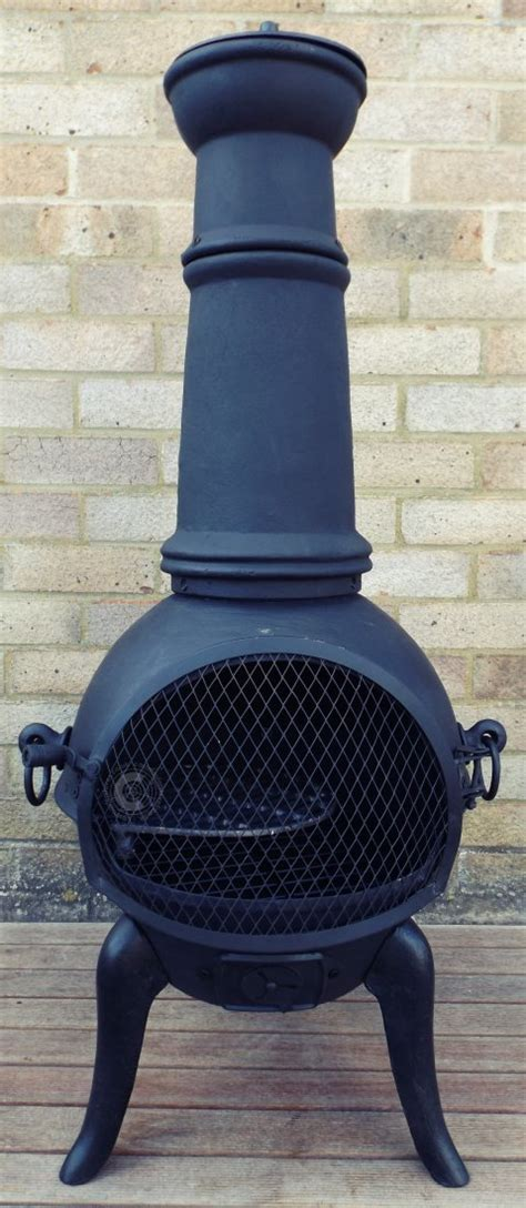 Buy Chiminea Uk Buy The Palma Castmastert Cast Iron Chiminea From