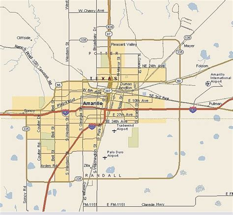 map of texas amarillo amarillo real estate market