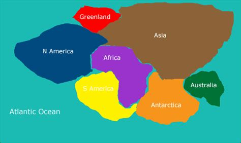 map world before land separated noah s flood