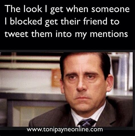 Blocked Meme - funny hilarious blocked twitter user meme toni payne