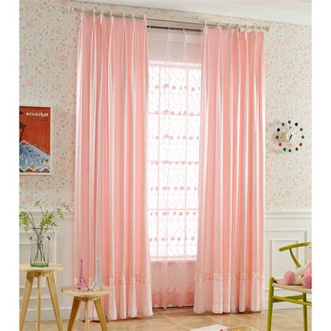 pink patterned curtains online pink print patterned faux silk elegant pinch pleated