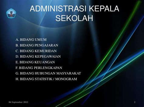 Dasar2 Statistika administrasi kepala sd