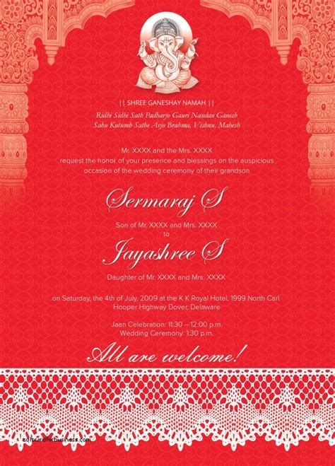 editable hindu wedding invitation cards templates free wedding invitation luxury editable wedding invitation