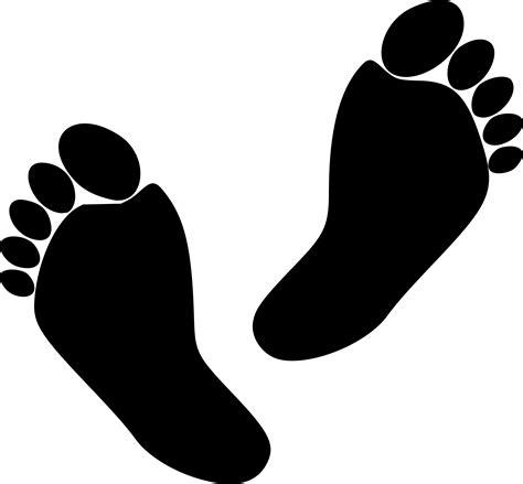 foot clip clipart 2