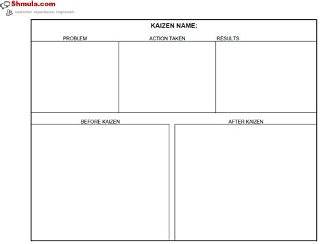 after templates kaizen template excel search engine at search