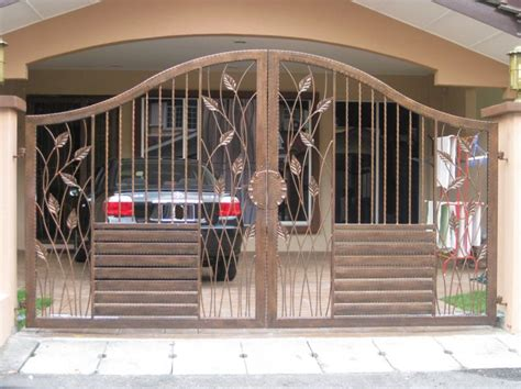 modern homes iron entrance gate designs ideas