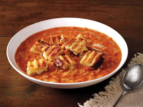 barefoot contessa recipe index easy tomato soup grilled cheese croutons recipe ina