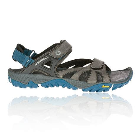 sandals shoes merrell all out blaze sieve convertible mens blue grey