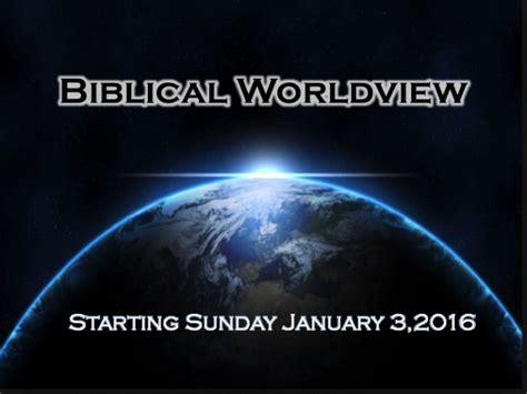 biblical worldview sermon series frbc