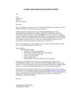 Sle Letter Soliciting Support Sle Solicitation Letter Financial Support