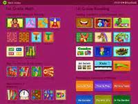 Starfall opens a first grade index on starfall com
