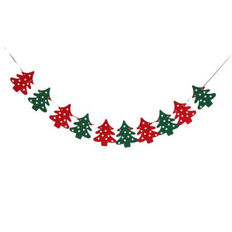 aliexpress com buy 10pcs christmas tree pattern bunting