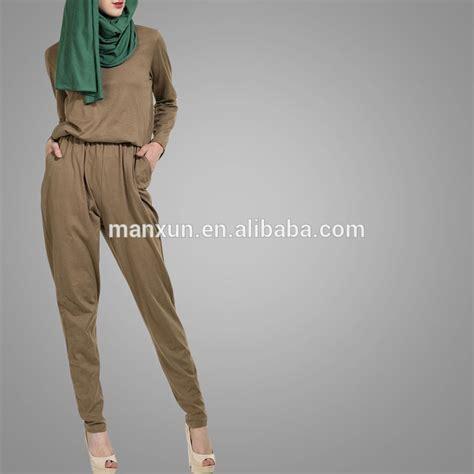 Kebaya Jumsuit modest office wear jumpsuits muslim model