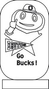 ohio state coloring pages free coloring pages of ohio state buckeyes
