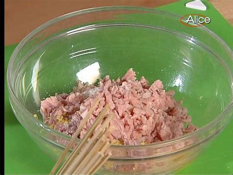 pronto in tavola bianchessi ricette ricette tv polpette con mortadella e limone