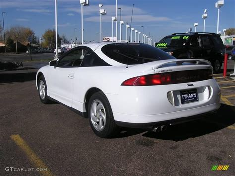white mitsubishi eclipse 1995 northstar white mitsubishi eclipse gsx turbo awd