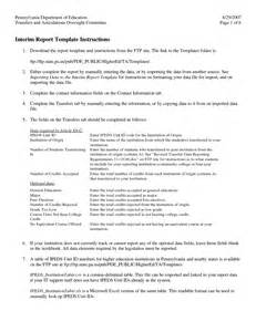 Interim Report Template boeing financial statements template best template