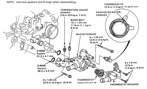 how to replace thermostat 1989 acura legend 2014 jeep wrangler sport 4wd 3 6l fi dohc 6cyl repair