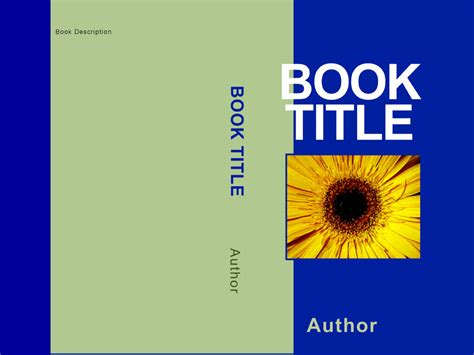book cover template free book distribution cover choices
