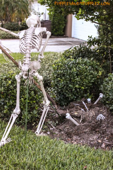 Garden Bunting Accessories Diy Skeleton Lawn Decor For