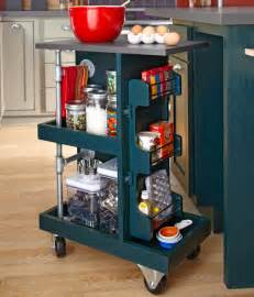 Kitchen Cart Ideas by Make A Kitchen Storage Cart