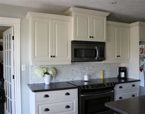 white kitchen cabinets with black countertops my kitchen white cabinets dark counters dark