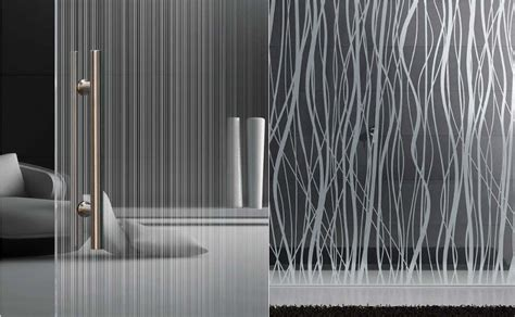 Introducing satin etched glass patterns from Italy ? Selector