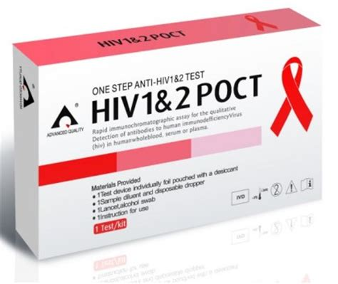 hiv saliva test and rapid std test kits
