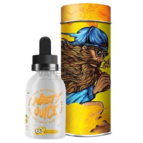 Juice Boy Mango Mangga 60ml Liquid Vape Vapor Diskon cush by juice 60ml vapetreat