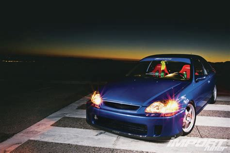 1999 honda civic si em1 import tuner magazine