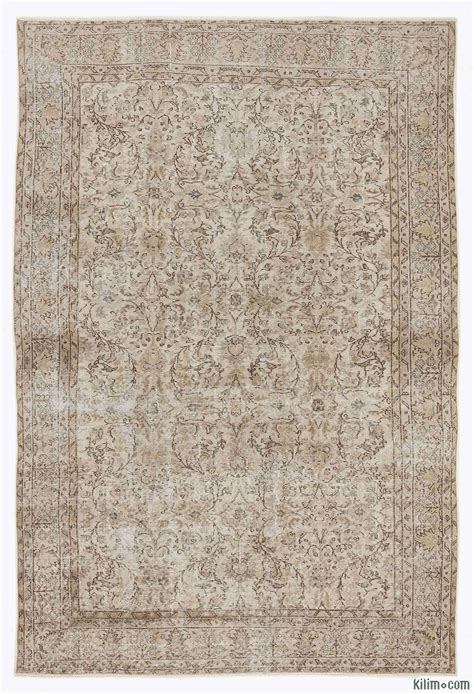 vintage overdyed rugs k0010085 beige dyed turkish vintage rug