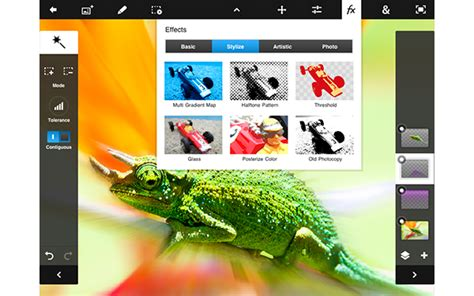 photoshop for android adobe updates photoshop touch to get cozy on the mini and nexus 7