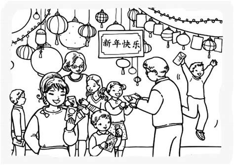 coloring pages for the chinese new year chinese new year gifts for the kids printable coloring