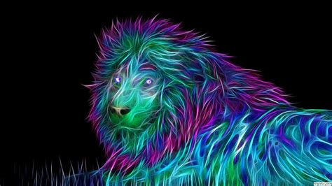 wallpaper abstract lion abstract 3d lion wallpaper 1920x1080 free download