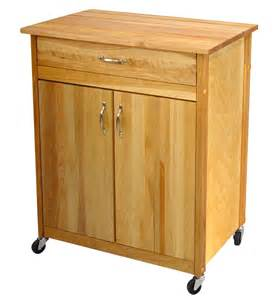 cuisine butcher block kitchen island cart