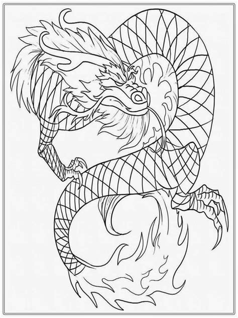 coloring pages of dragons for adults chinese dragon adult coloring pages realistic coloring pages