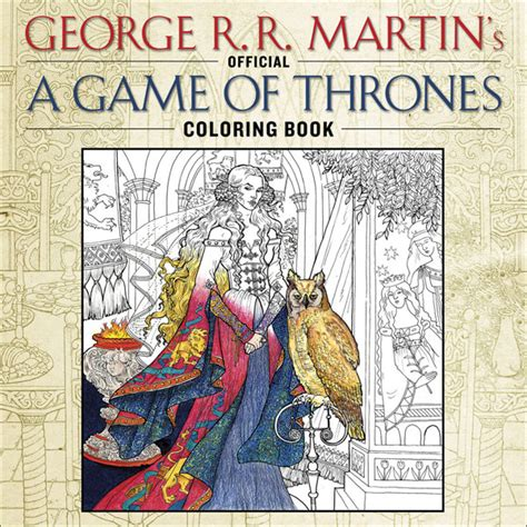 bantam books of thrones coloring book el libro para colorear de juego de tronos saldr 225 en espa 241 a