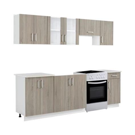 bloc cuisine pas cher superbe bloc armoires de cuisine couleur ch 234 ne 7 pcs avec